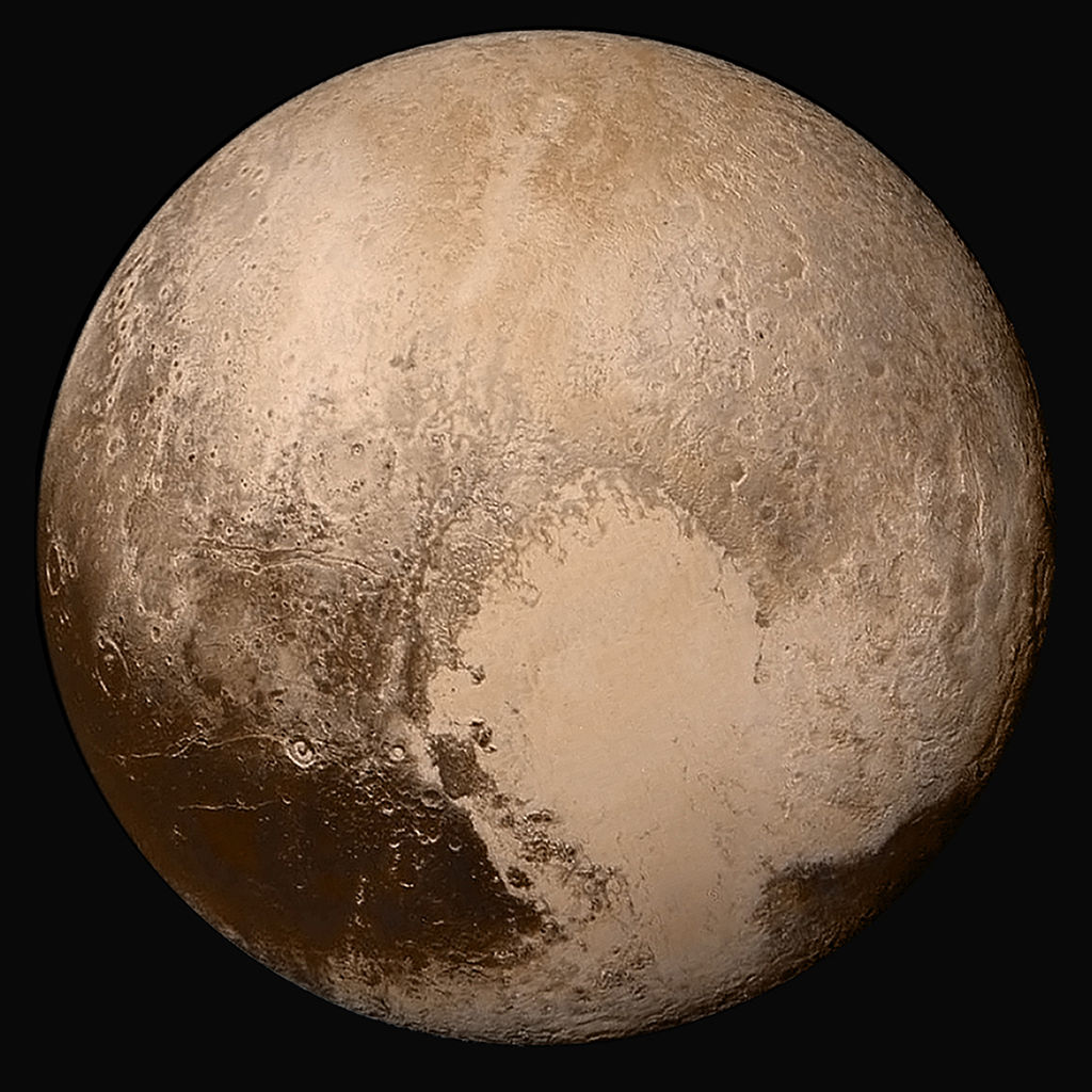 Pluto, once a planet, a dwarf planet since 2006