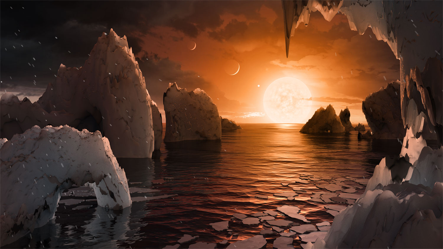 Trappist-1, a remarkable exoplanet system
