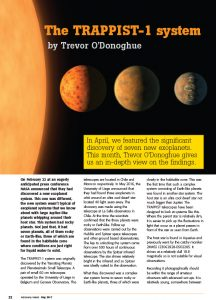 A summary of the Trappist 1 exoplanet system
