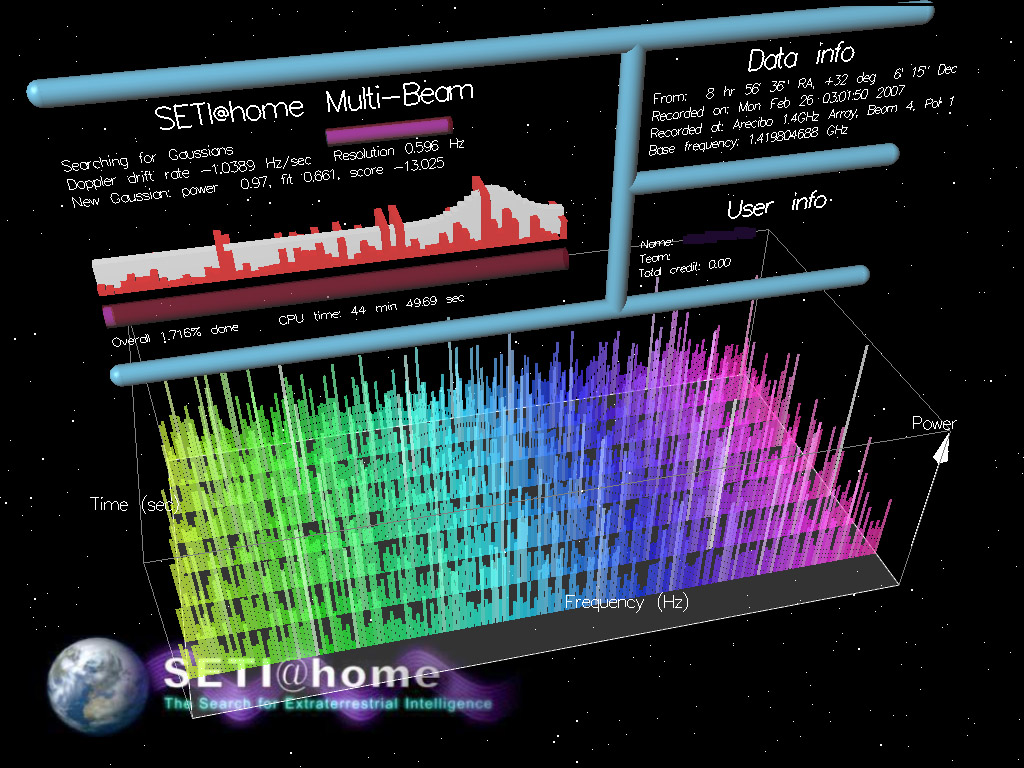 Hunt aliens from the comfort of your own home with SETI@home