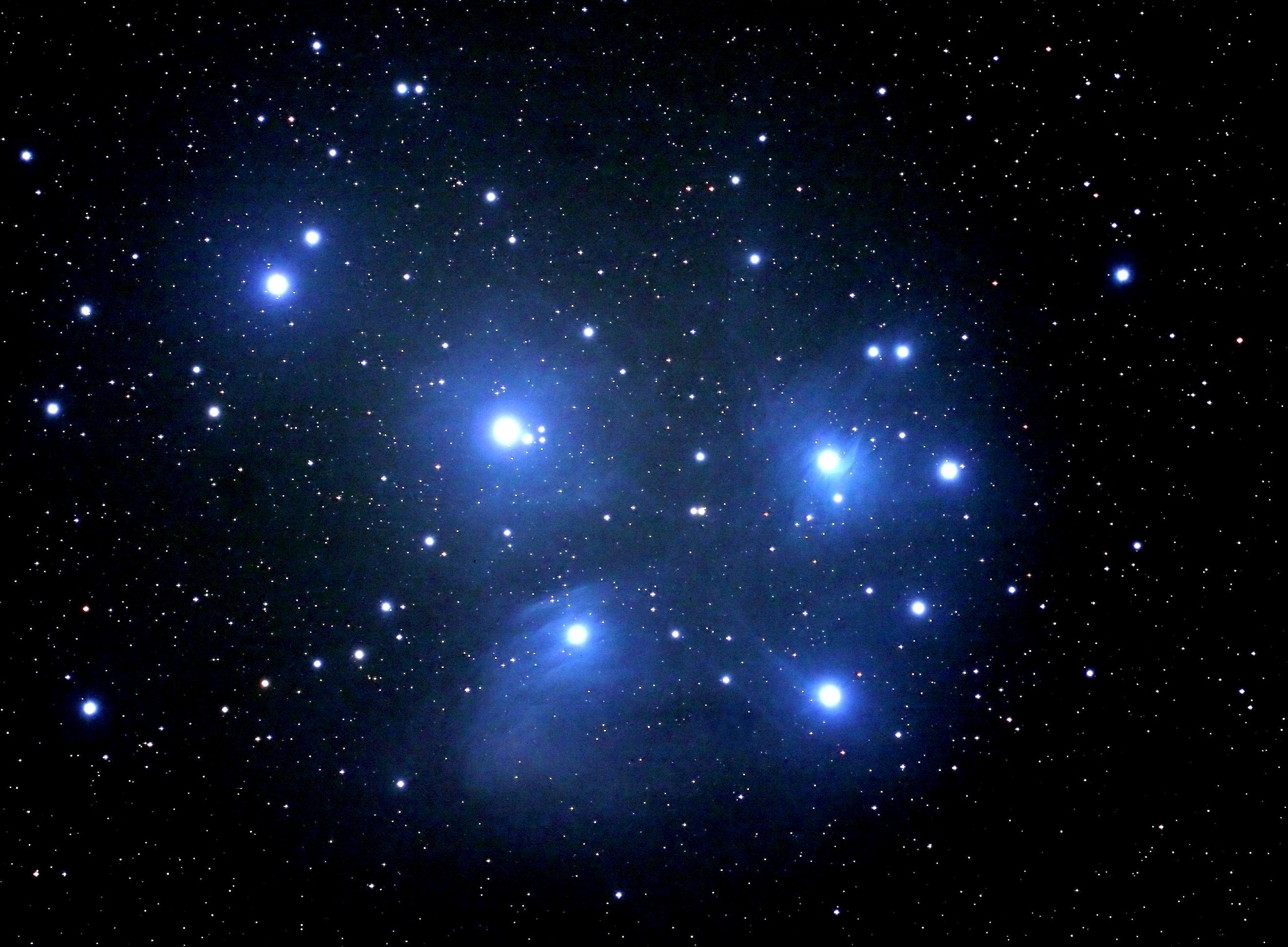 The Pleiadas, M45